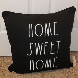 Rae Dunn HOME SWEET HOME Pillow